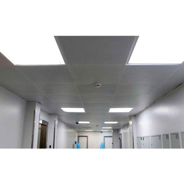 Кассетный потолок с перфорацией