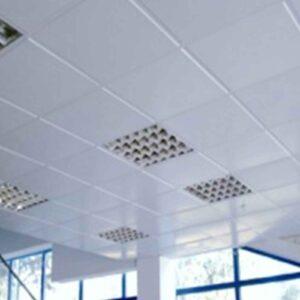 Кассетный потолок Белый