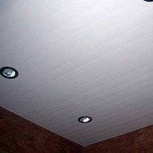 Реечный потолок 100мм белый