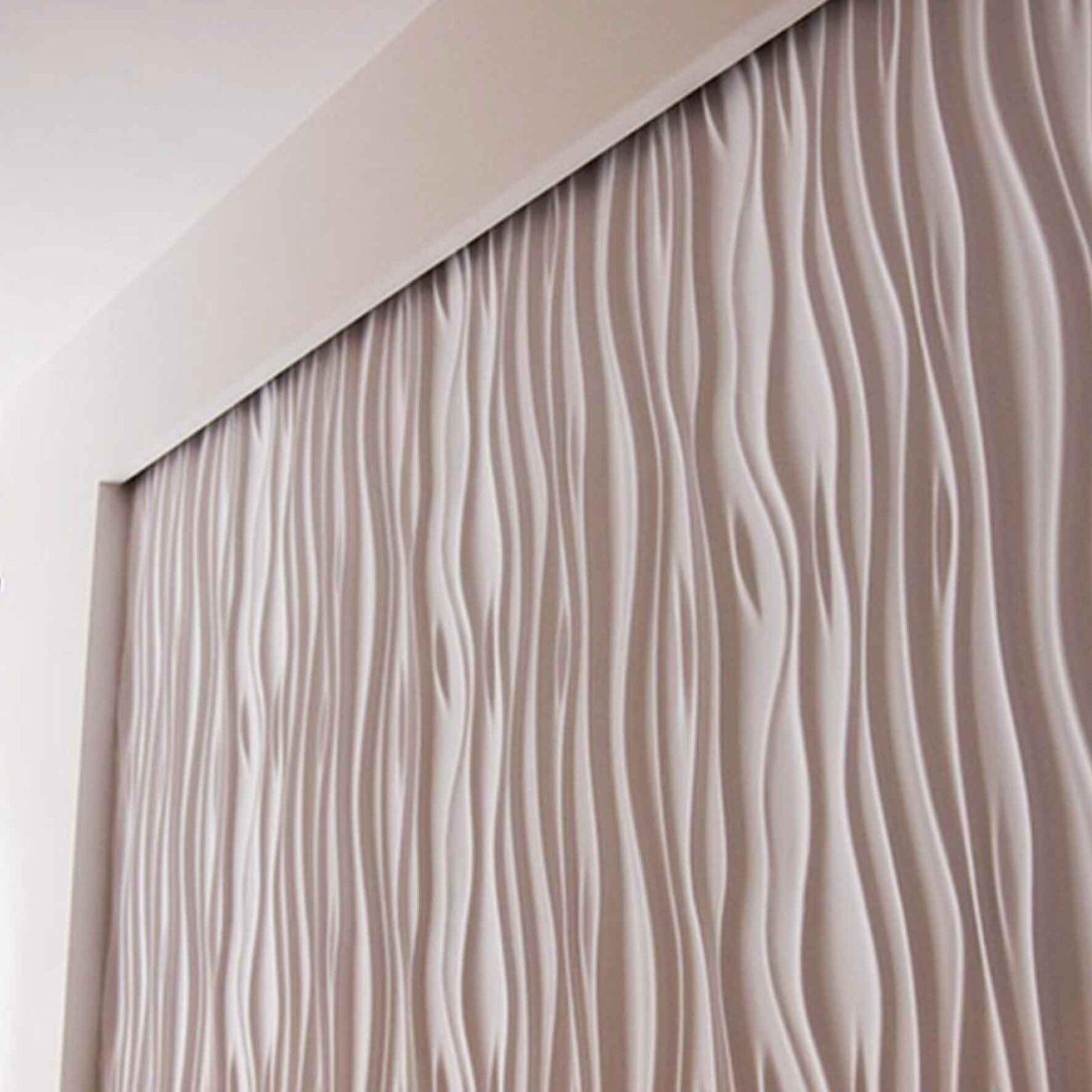 Стеновые панели из гипса