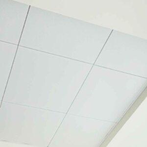 Кассетный потолок на скрытой подвесной системе