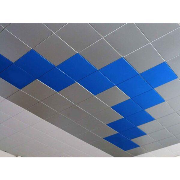 Алюминиеый Кассетный потолок Металлик