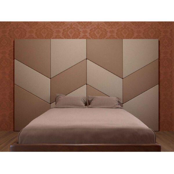 Мягкая стеновая панель для спальни