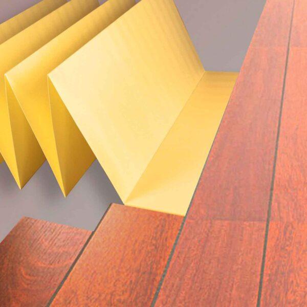 Подложка под Ламинат 2мм Желтая Solid