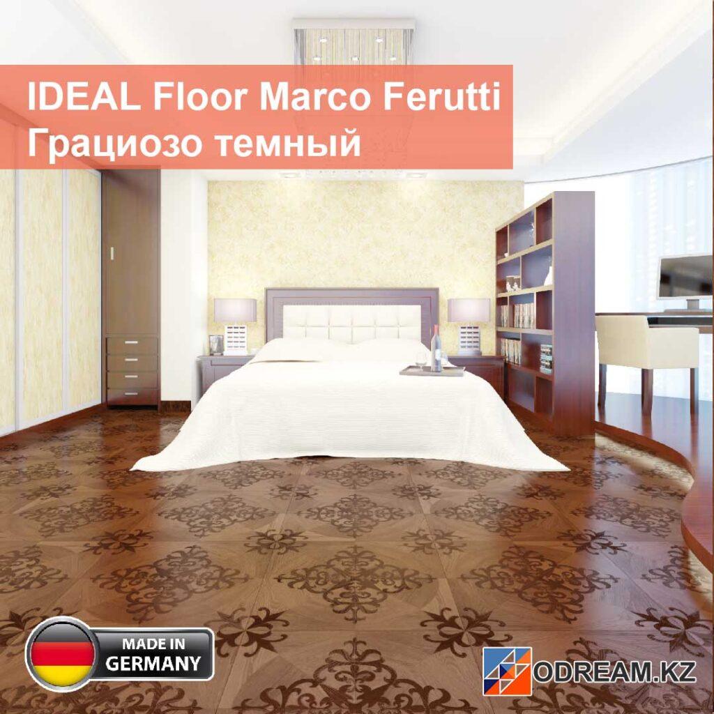 Ламинат IDEAL Floor Marco Ferutti Грациозо тёмный