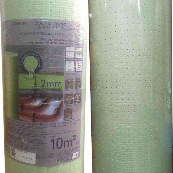 Подложка рулонная для отапливаемых полов Solid